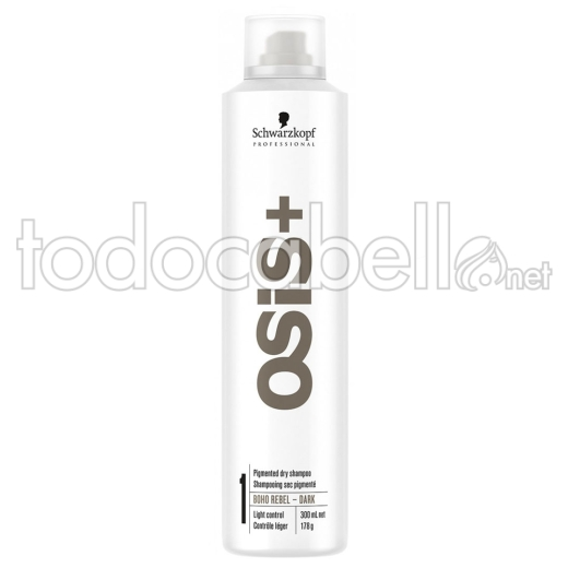 Schwarzkopf Osis + Boho Rebel Shampoo in dry dark 300ml