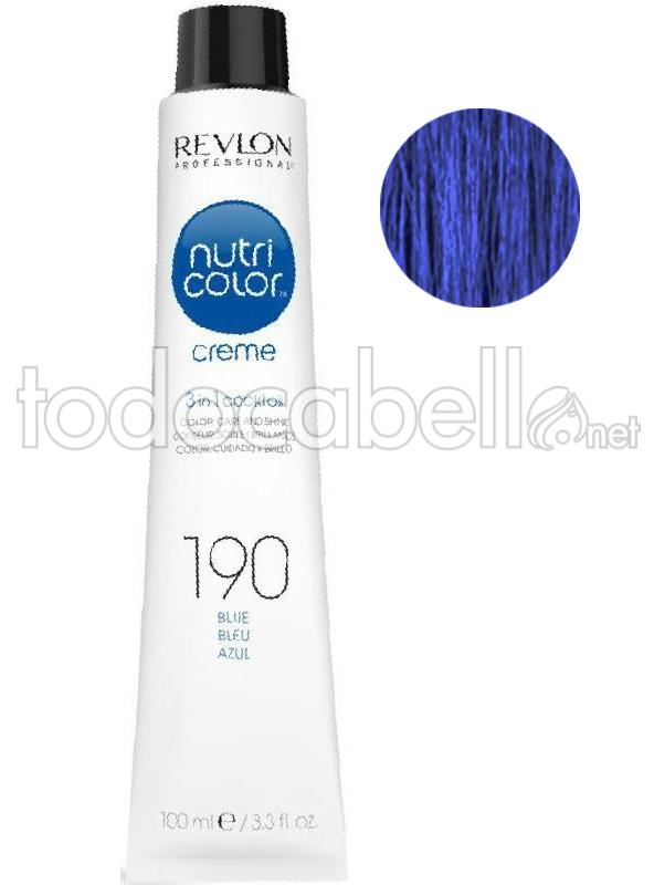 Verrassend Revlon Nutri Color Cream 190 Blue 100ml HB-34