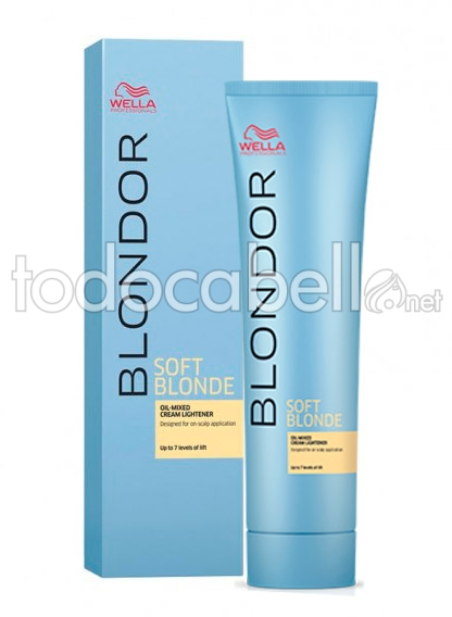 Wella Blondor Soft Blonde Lightening Cream 200gr